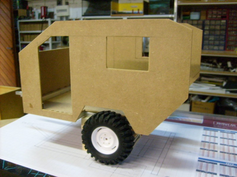 Camper trailer home made  S6300914