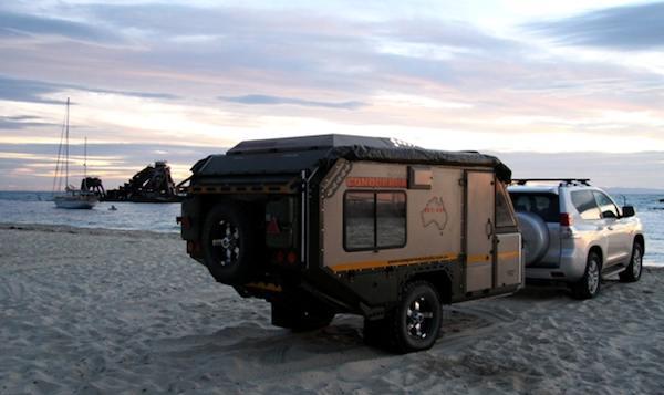Camper trailer home made  Uev-4910