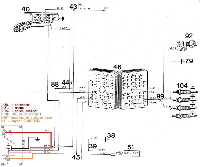 Remplacement prechauffage sur CJ7 Precha19