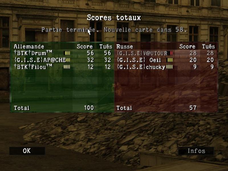 petit tableaux de scores Sniper85