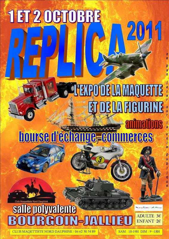 Expostion REPLICA Bourgoin-Jallieu (69) Compos10