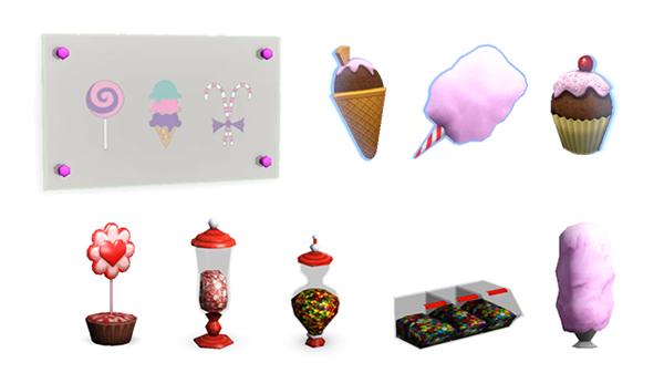 Les Sims™ 3 : Katy Perry Délices Sucrés Kit Sweets10