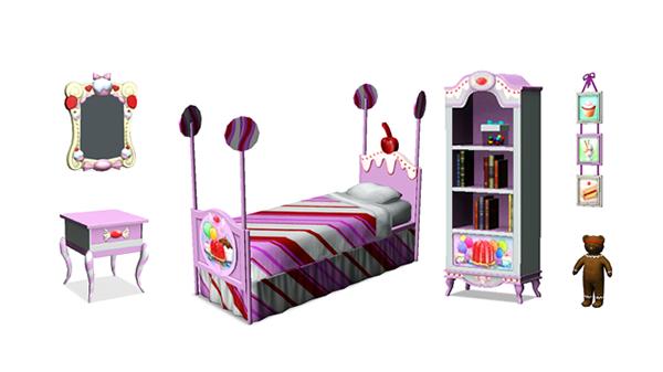 Les Sims™ 3 : Katy Perry Délices Sucrés Kit Sweets13