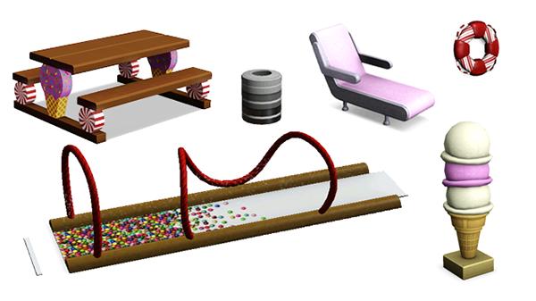 Les Sims™ 3 : Katy Perry Délices Sucrés Kit Sweets15
