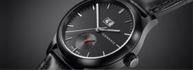 Découvrez Genesis Uhren Black410