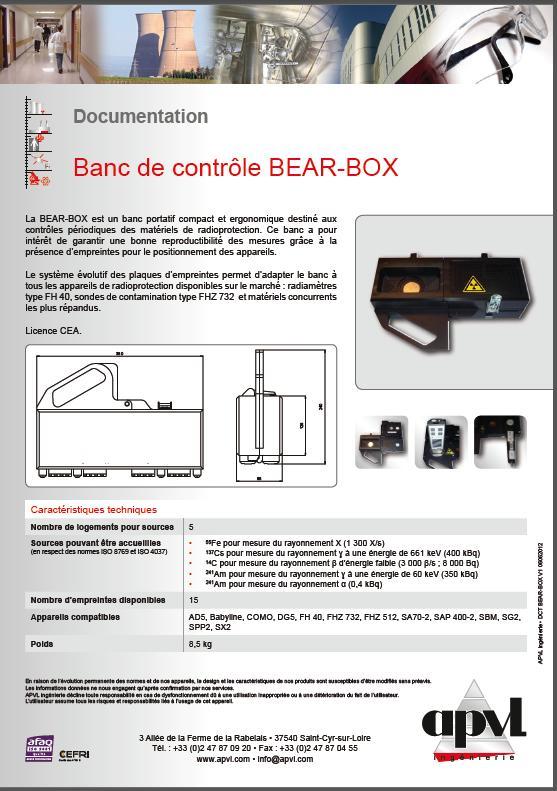 Support pour contrôle périodique Banc10