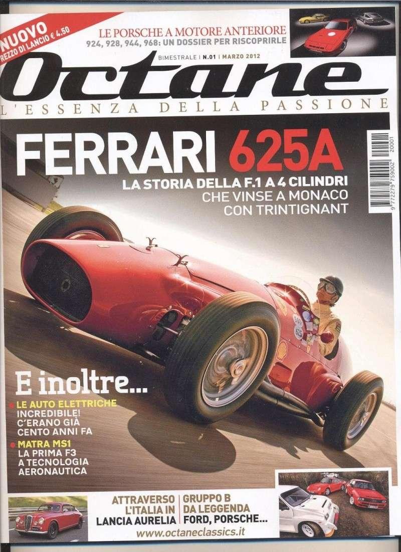 Octane! Nuova rivista per auto storiche e moderne di prestigio Copert10