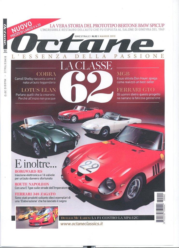 Octane! Nuova rivista per auto storiche e moderne di prestigio Octane10