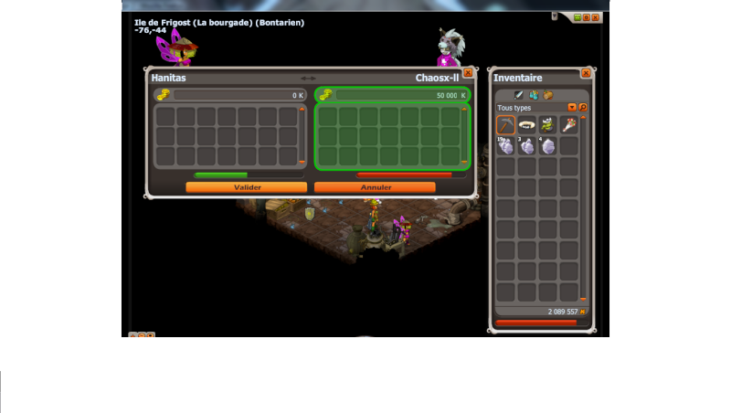 gagné 100 000k pour  un screen x) Kamas_12