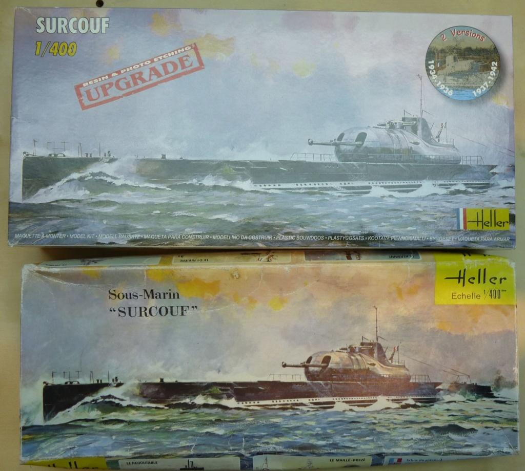 Croiseur sous-marin SURCOUF 1/400ème Réf f 81014 P1270413