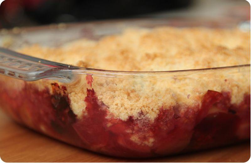 [Dessert] Crumble aux pommes façon titi 54911110
