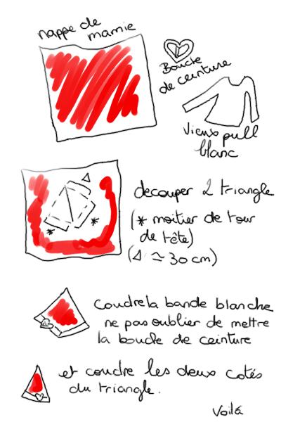 Chapeau de Père Noël [by Kumi] Bonnet10