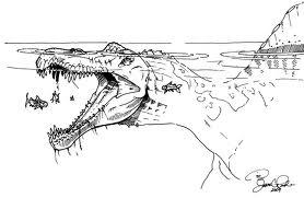 paléontologie forum 2010 spinosaure dinosaure crocodile caiman alligator gavial suchus shieldcroc découverte cnrs 2010 ancêtre