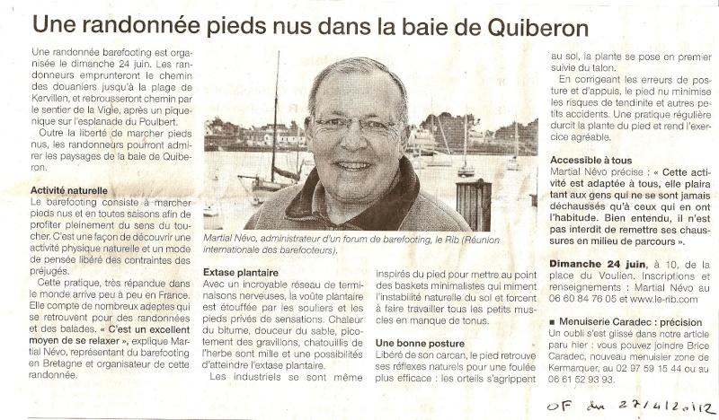 Interview donnée par Jassure pour annoncer la balade du 24/06/2012  1eravr22