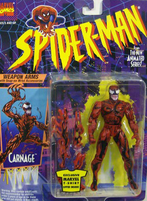 Spider-Man/The Animated Serie (Toy Biz) 1994-1996  Carnag10