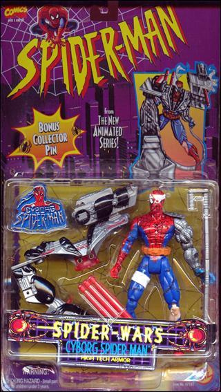 Spider-Man/The Animated Serie (Toy Biz) 1994-1996  Cyborg10
