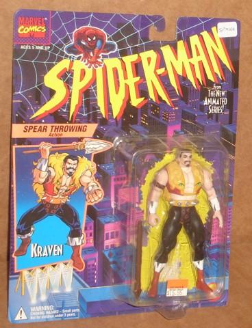 Spider-Man/The Animated Serie (Toy Biz) 1994-1996  Kraven10