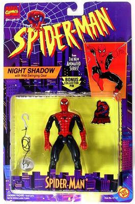 Spider-Man/The Animated Serie (Toy Biz) 1994-1996  Nights10