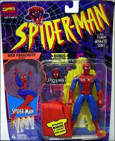 Spider-Man/The Animated Serie (Toy Biz) 1994-1996  Parach10