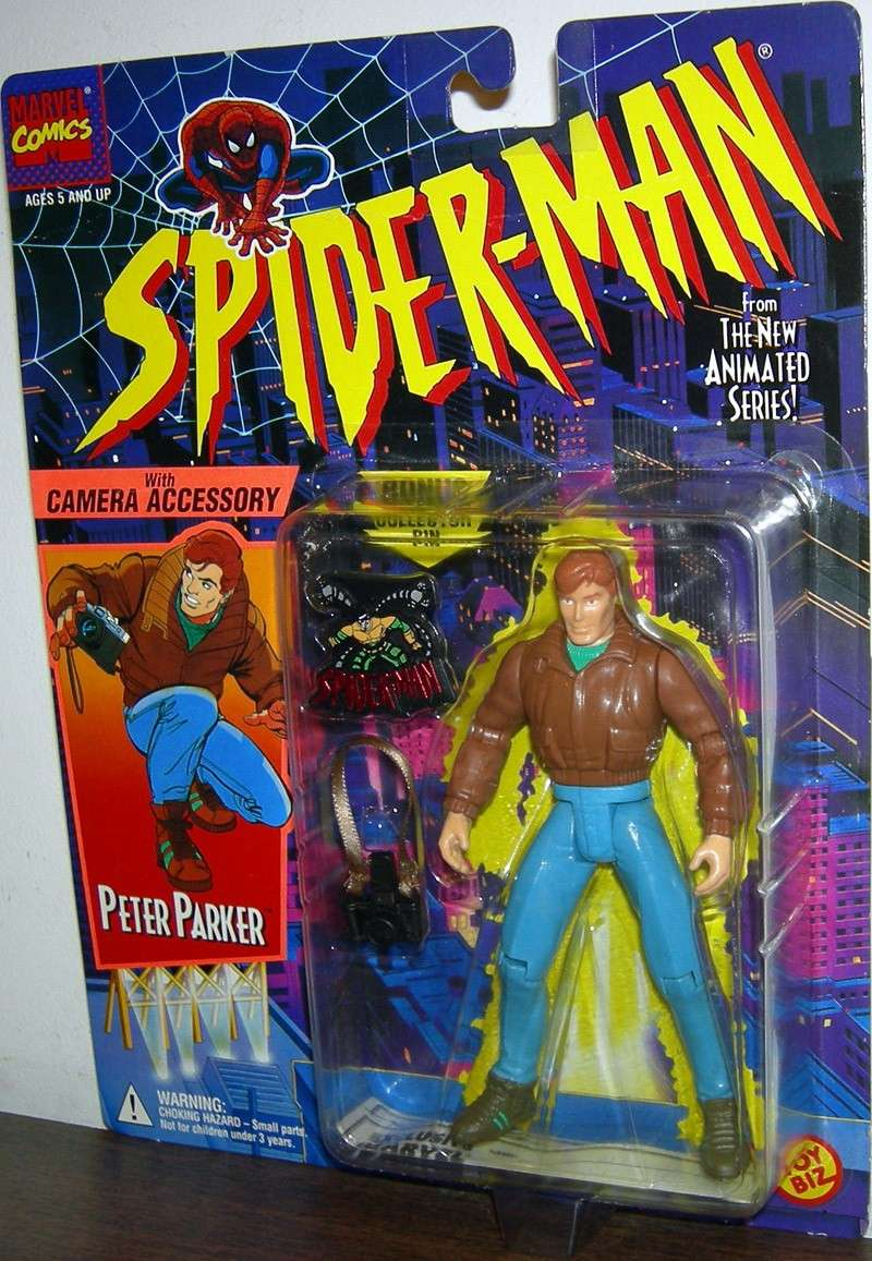 Spider-Man/The Animated Serie (Toy Biz) 1994-1996  Peterp10
