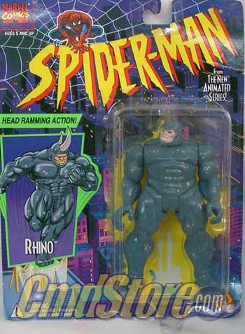 Spider-Man/The Animated Serie (Toy Biz) 1994-1996  Rhino10