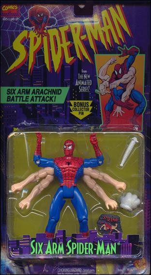 Spider-Man/The Animated Serie (Toy Biz) 1994-1996  Sixarm10