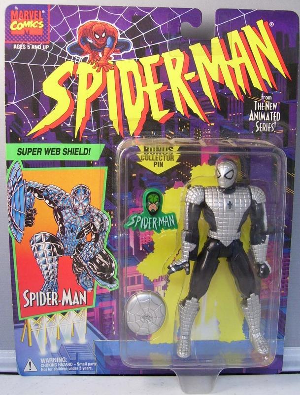 Spider-Man/The Animated Serie (Toy Biz) 1994-1996  Spider12