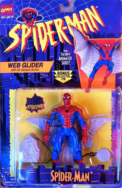 Spider-Man/The Animated Serie (Toy Biz) 1994-1996  Webgli10
