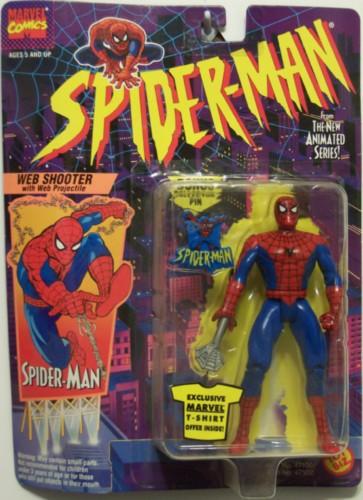 Spider-Man/The Animated Serie (Toy Biz) 1994-1996  Websho10
