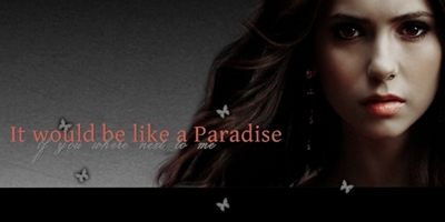 It would be like a Paradise if you where next to me Banner23