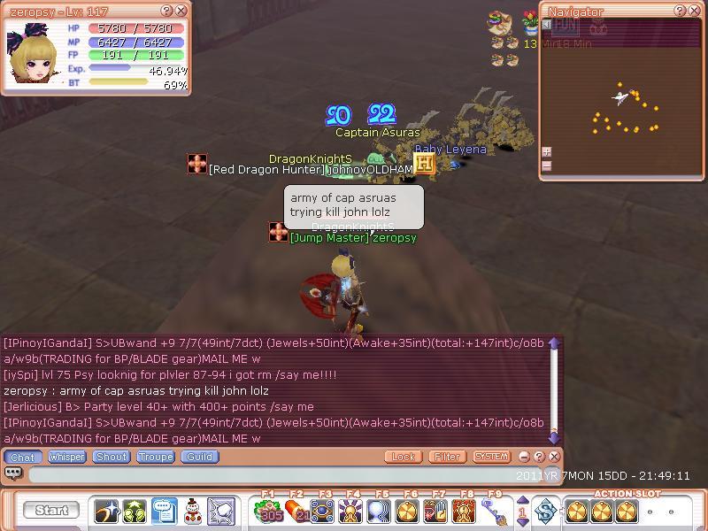 CATCH A GUILDIE Flyff014