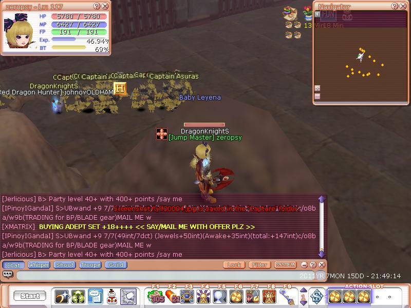 CATCH A GUILDIE Flyff016