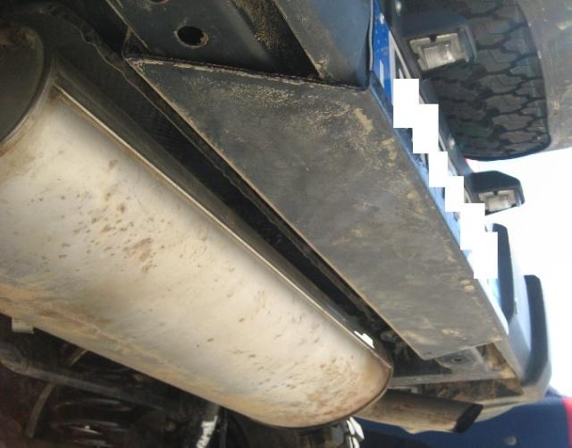 Modifica targa posteriore JK Lam210