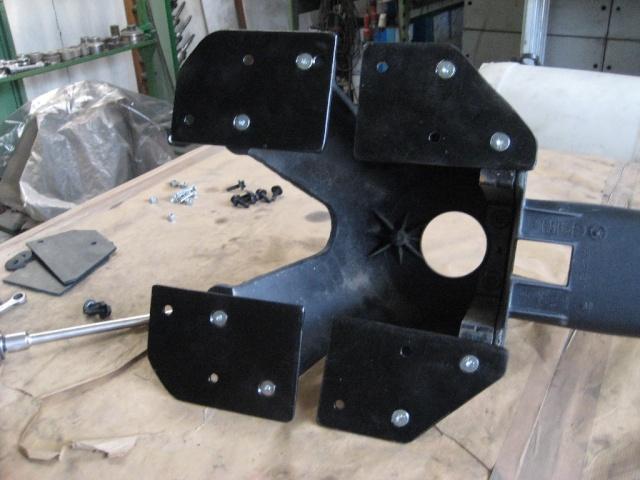 Modifica targa posteriore JK T310