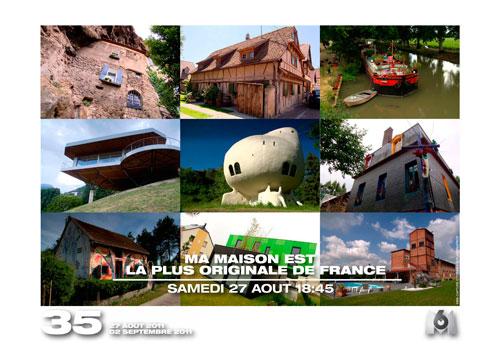 Ma maison est la plus originale de France - M6 Progra10