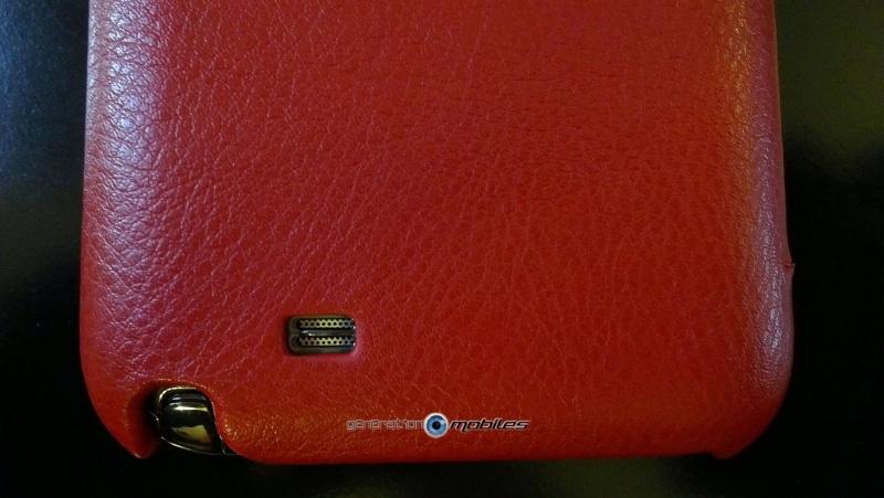 [ORDICA-STORE] Test de l'étui/Housse Volet Ouvrant Portefeuille Samsung Galaxy Note 2 - I-Carer - Rouge Imag0216