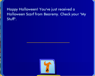 Get A Cool Scarf from Bearemy this Halloween! Scree162