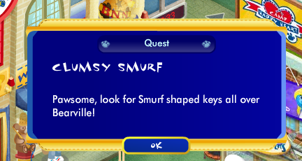 Clumsy Smurf's Quest Walkthrough! Screen42