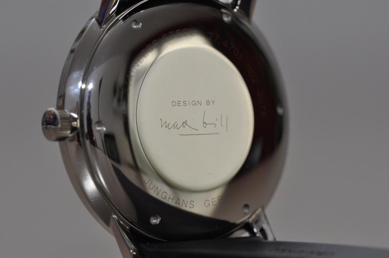 Max Bill - Max Bill auto bâton 38mm noire revue 1411