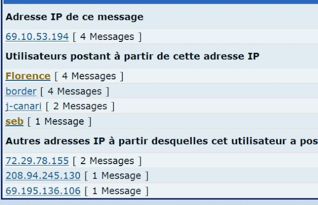 Problème d'adresse IP Ip10