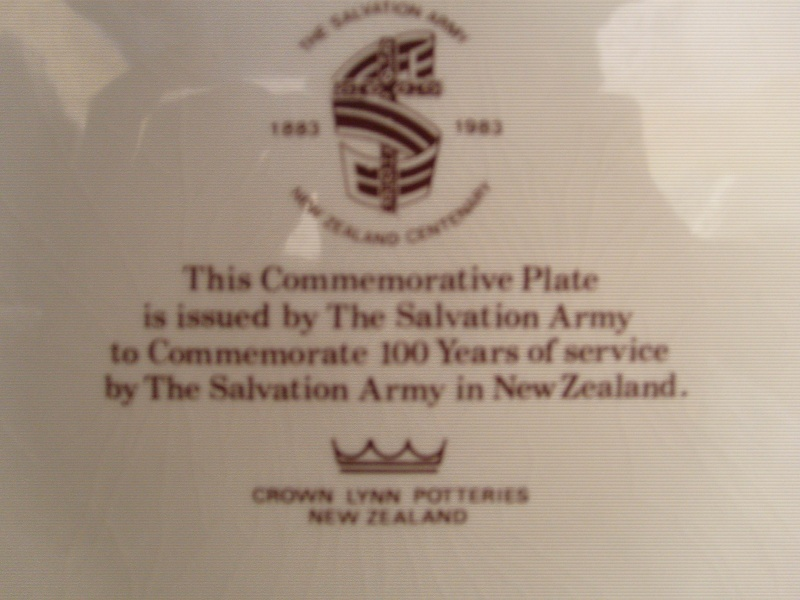 Salvation Army 1883-1983 S7305225