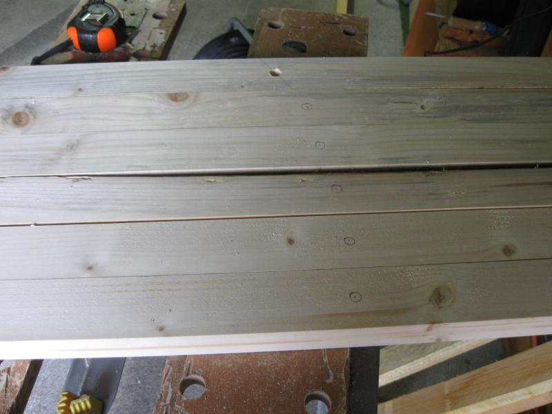 Chevalet à bois. Img_2313