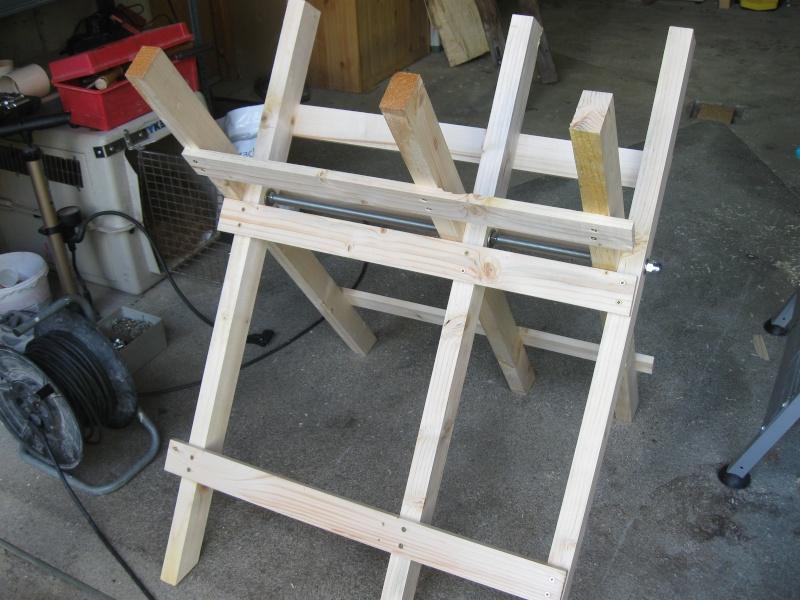 Chevalet à bois. Img_2316