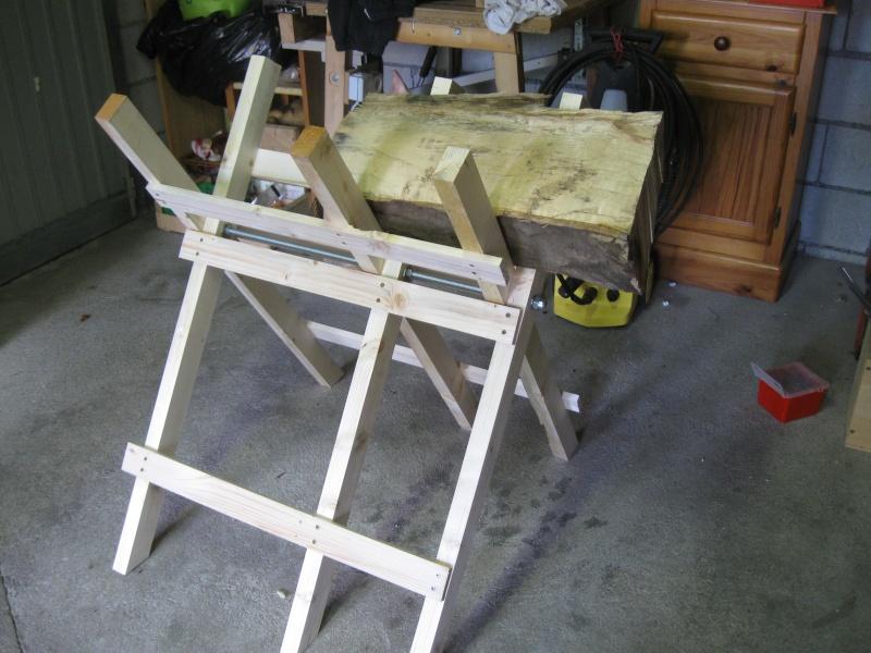 Chevalet à bois. Img_2317