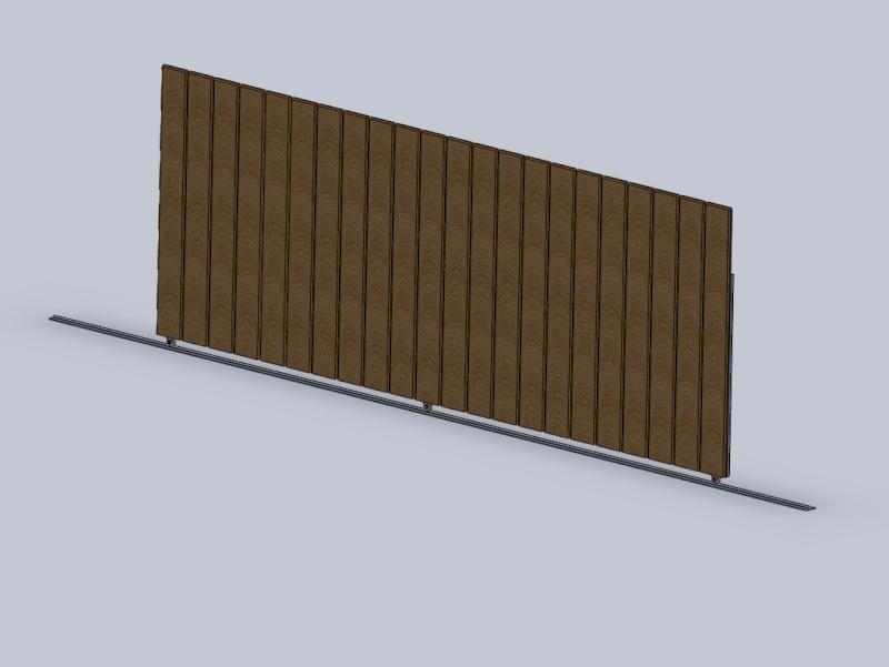 [projet] réalisation d'un portail métal/PVC Port110