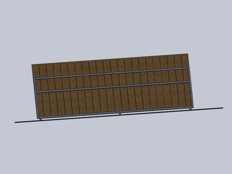 [projet] réalisation d'un portail métal/PVC Port210