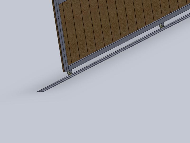 [projet] réalisation d'un portail métal/PVC Roul210