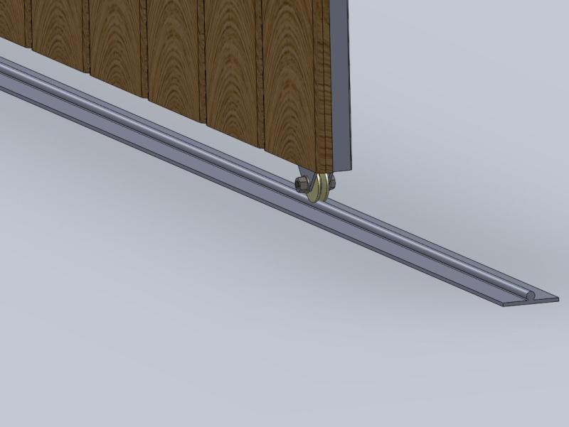 [projet] réalisation d'un portail métal/PVC Roul310