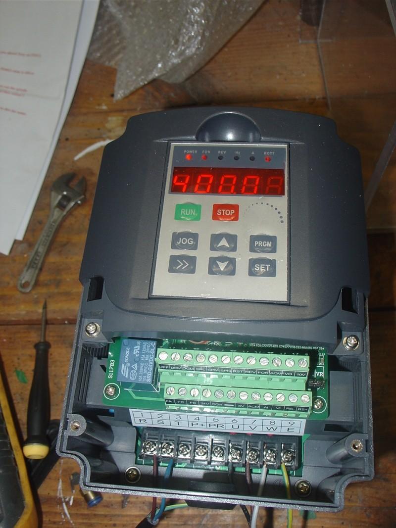 Portique  CNC  PFE1000PX + socle et console PC - Page 3 Dsc02124