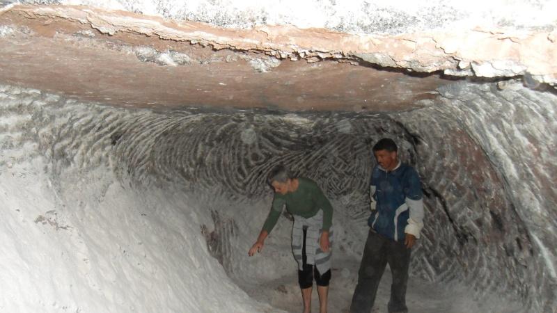Découverte d'une mine de sel en montagne Atlas_26